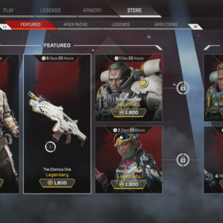 Apex Legends Store Inventory March 6, 2019