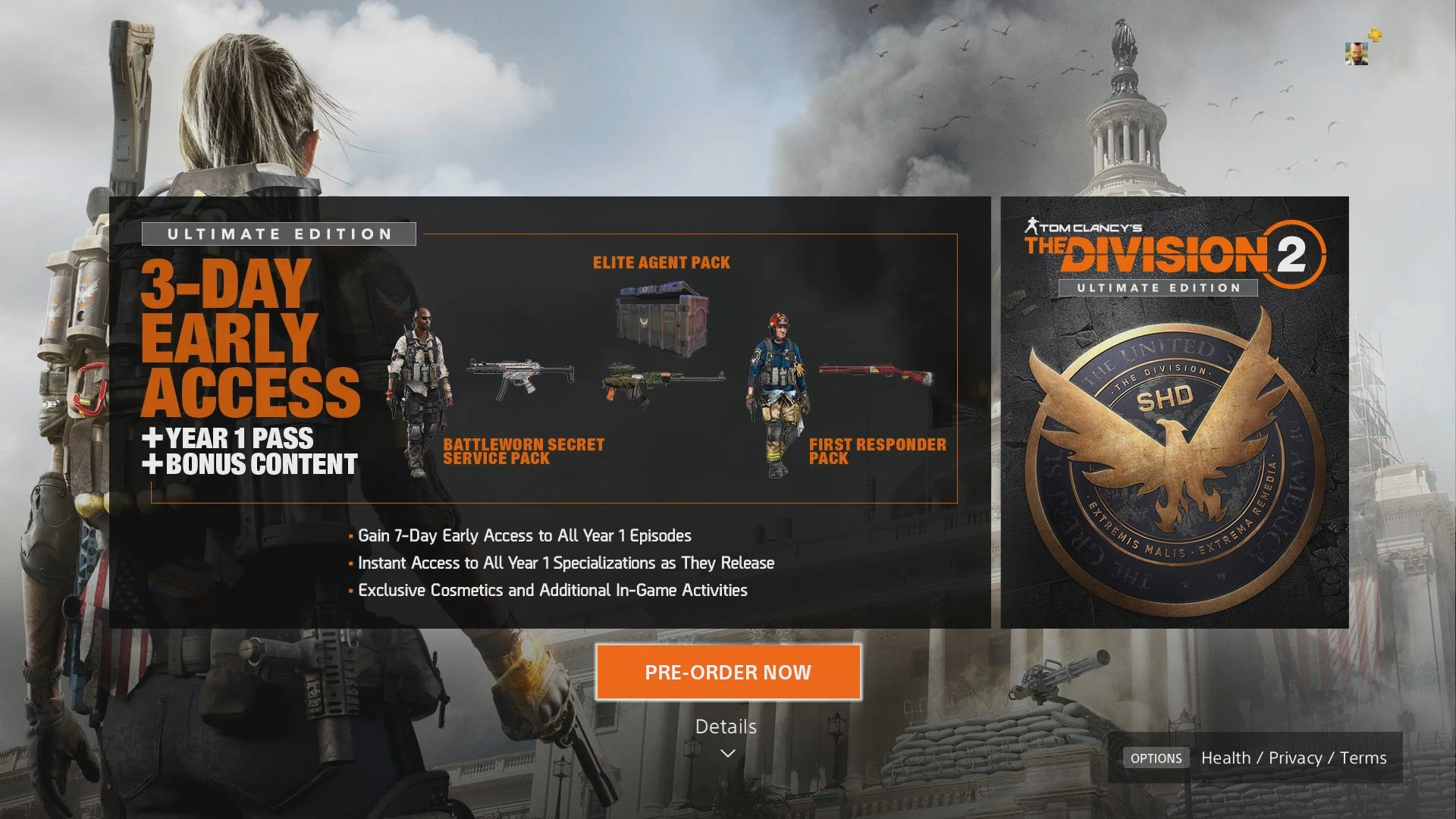 division 2 ultimate edition gamestop