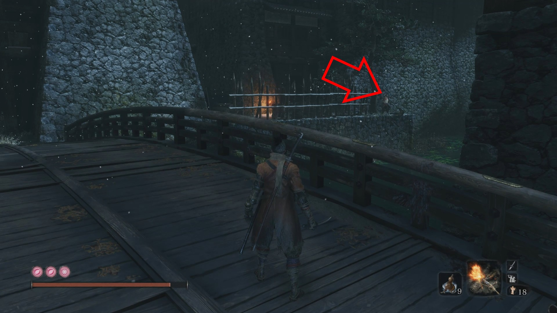 Salt NPC Sekiro Shadows Die Twice