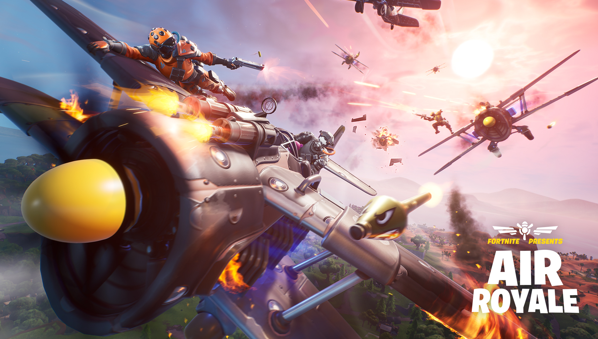 Fortnite 8.40 Patch Notes Released - Includes New Air ...