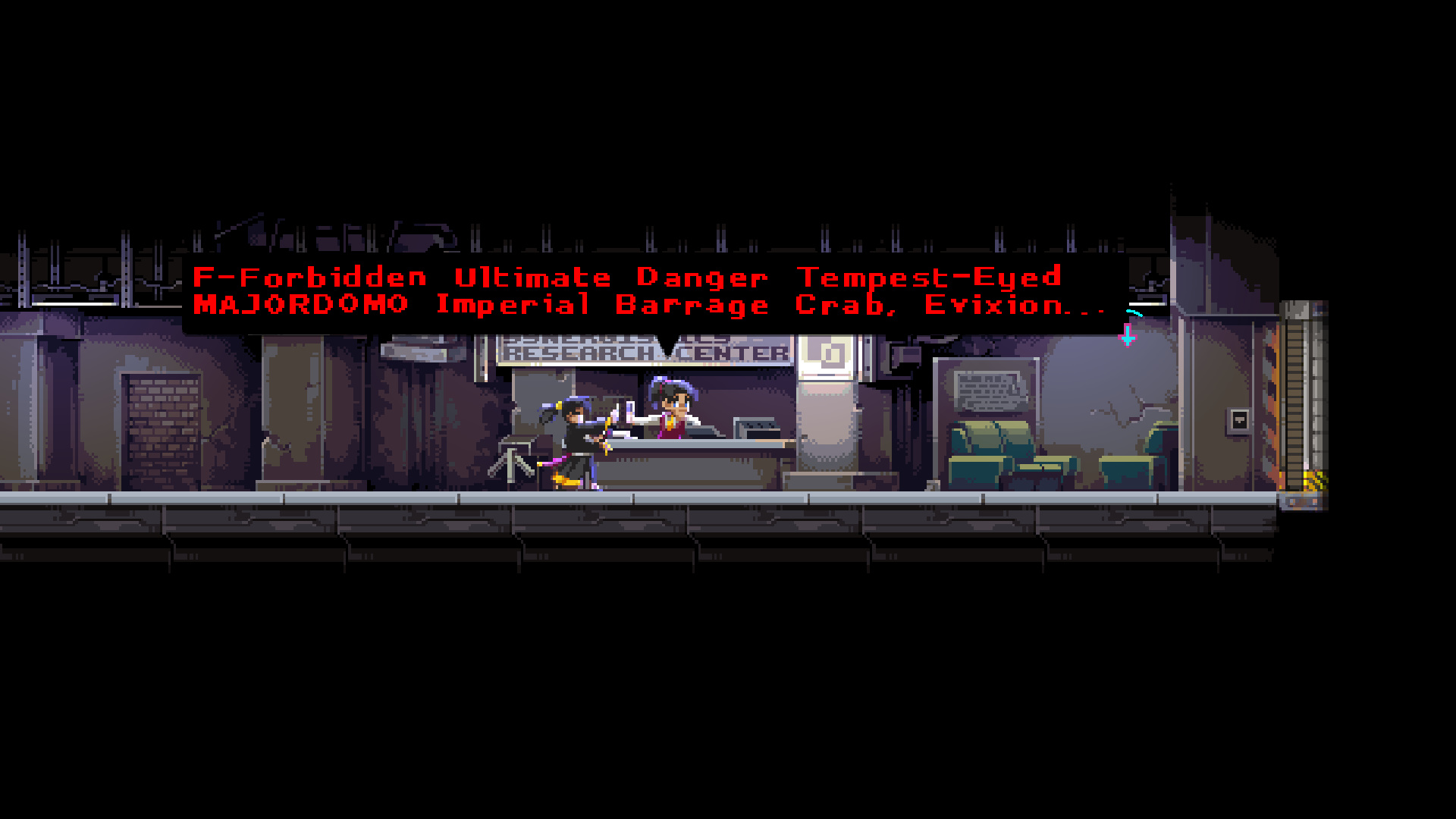 Achievement Forbidden Ultimate Danger Tempest-Eyed MAJORDOMO Imperial Barrage Crab, Evixion (Hotel & Bunker)