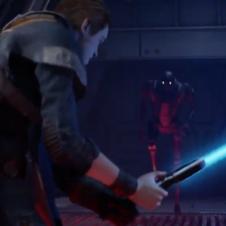Featured image on Star Wars Jedi Fallen Order Gameplay reveal post.