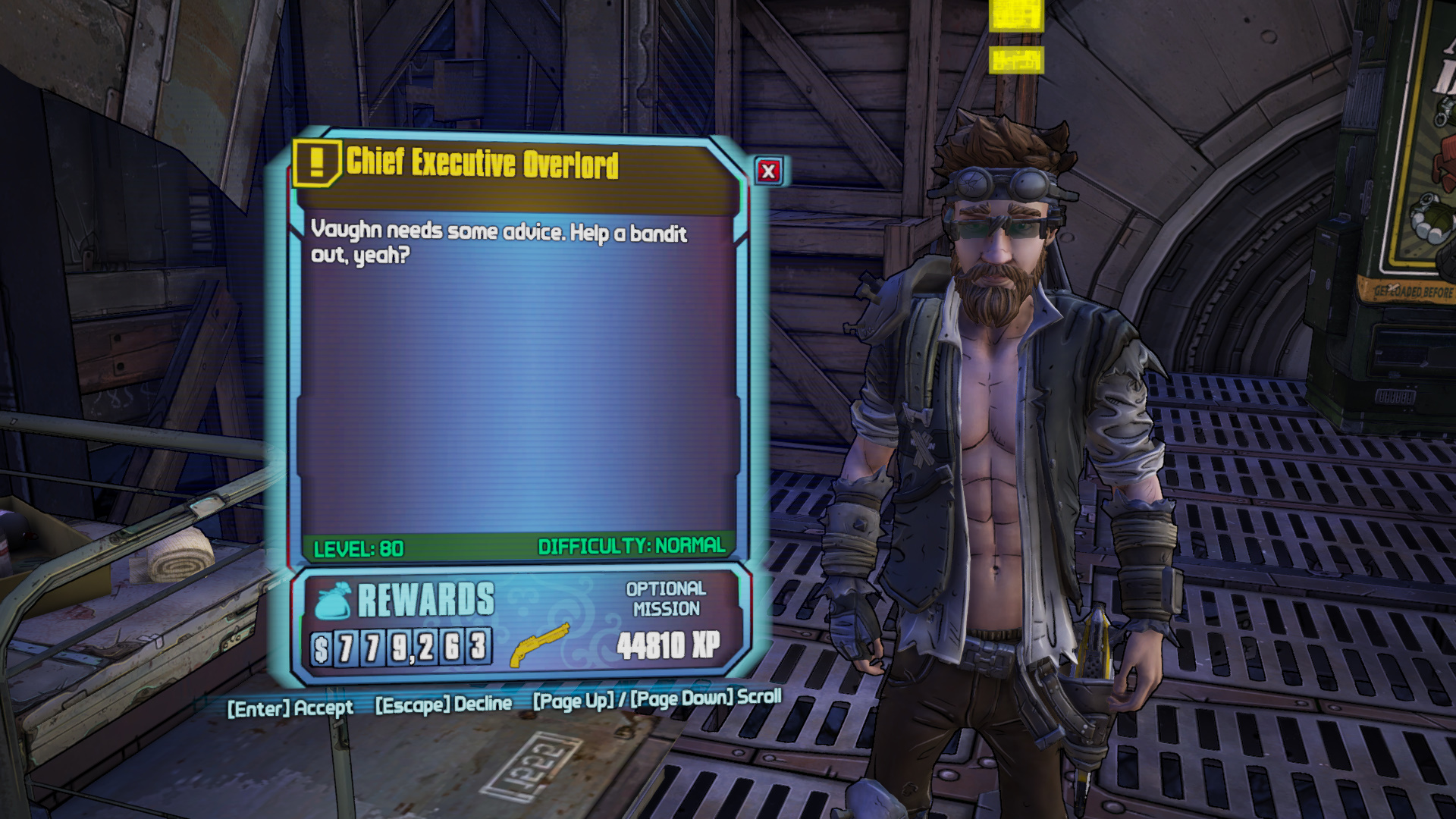 How to Get the Overcompensator Legendary in Commander Lilith & the