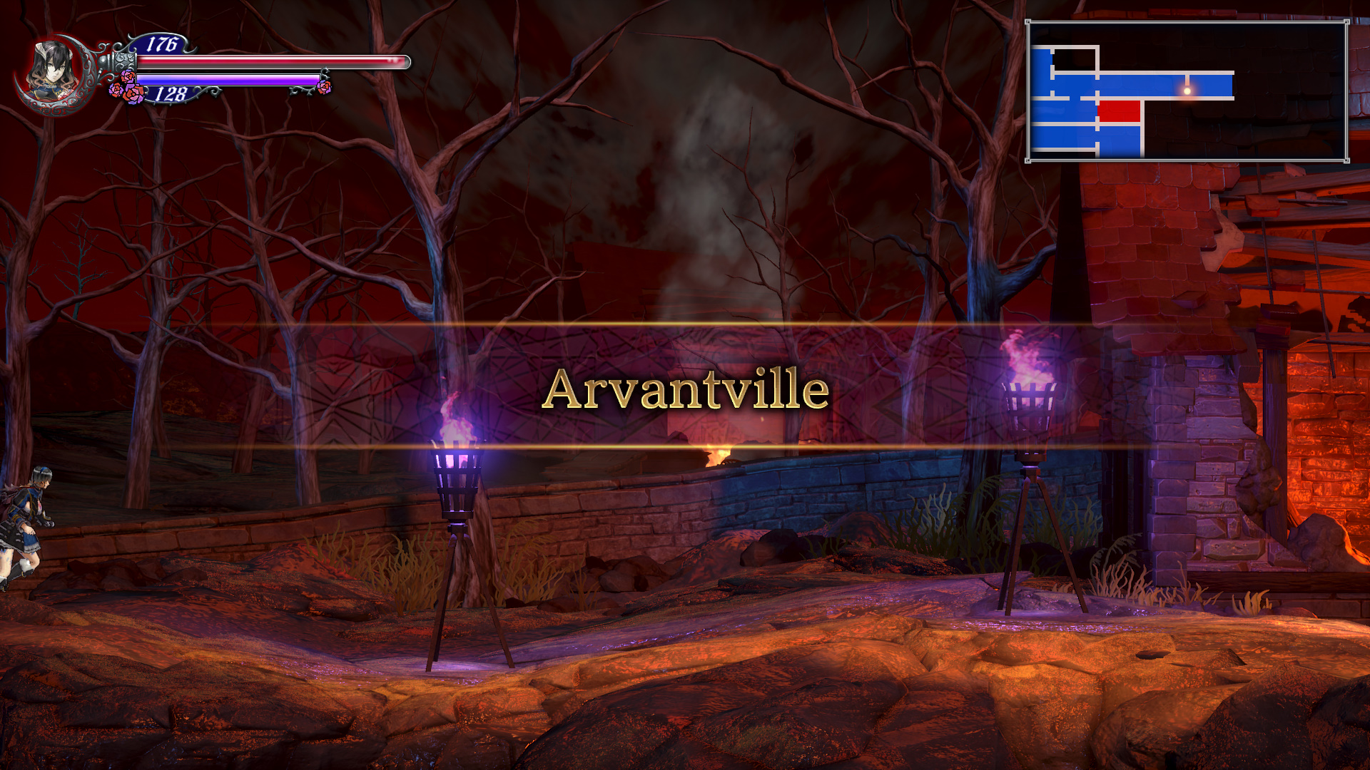 Bloodstained Ritual of the Night Arvantville Guide