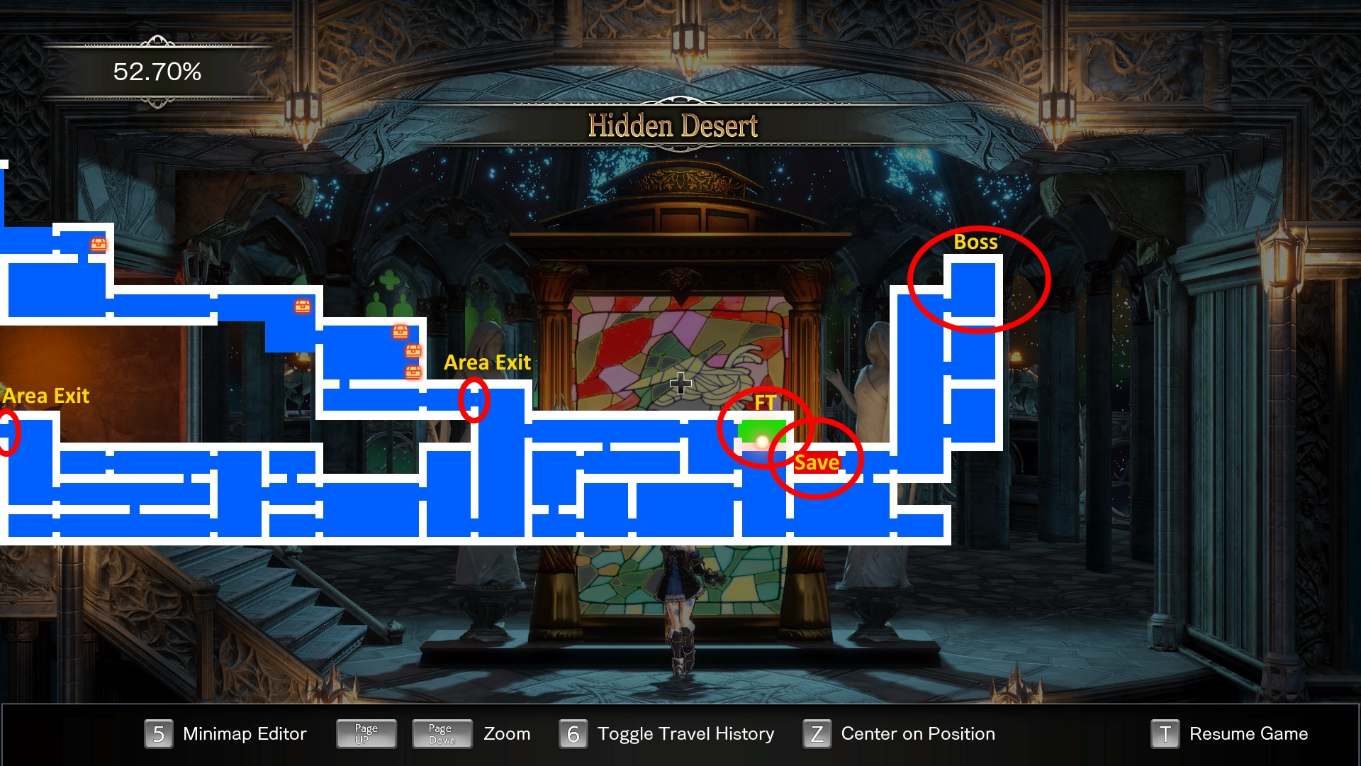 Bloodstained Ritual of the Night Hidden Desert Guide