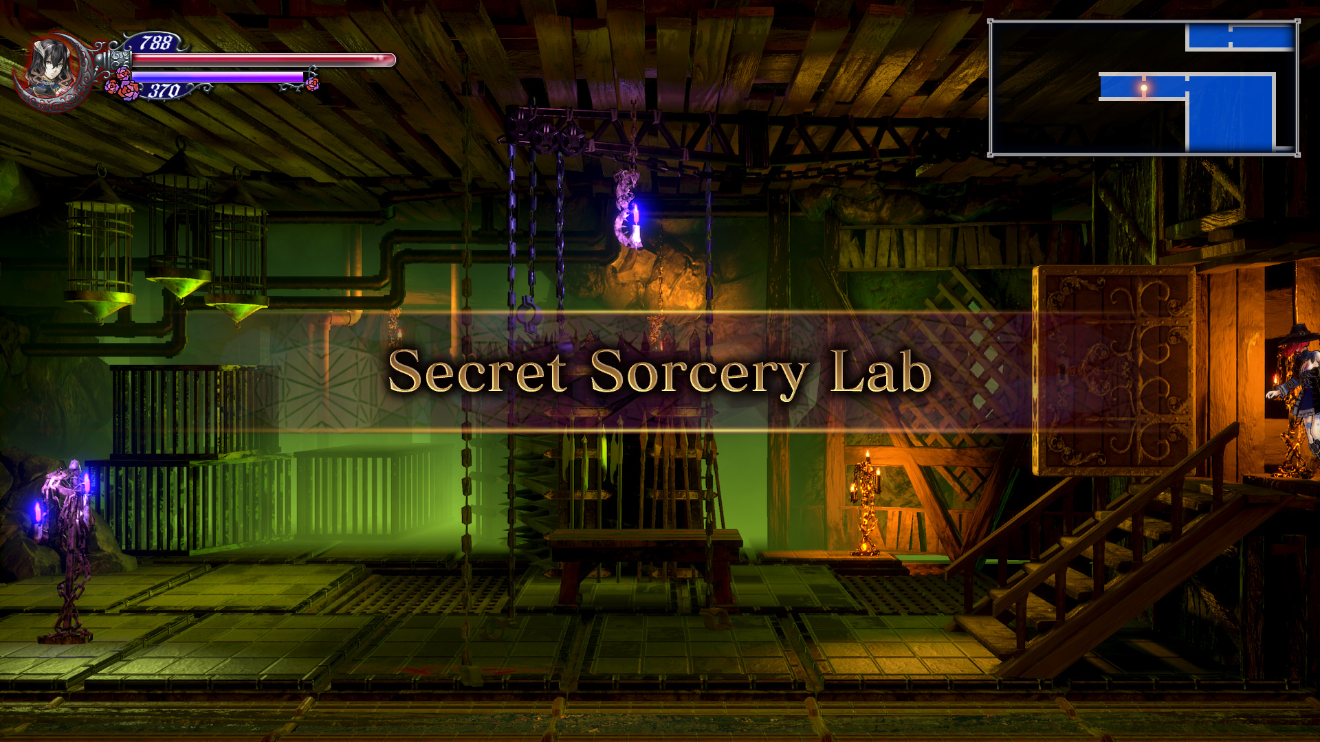 Bloodstained Ritual of the Night Secret Sorcery Lab Guide