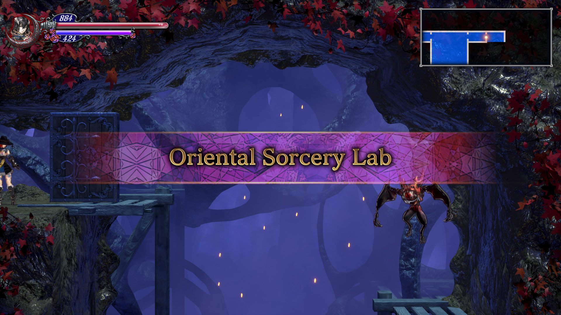 Bloodstained Ritual of the Night Oriental Sorcery Lab Guide