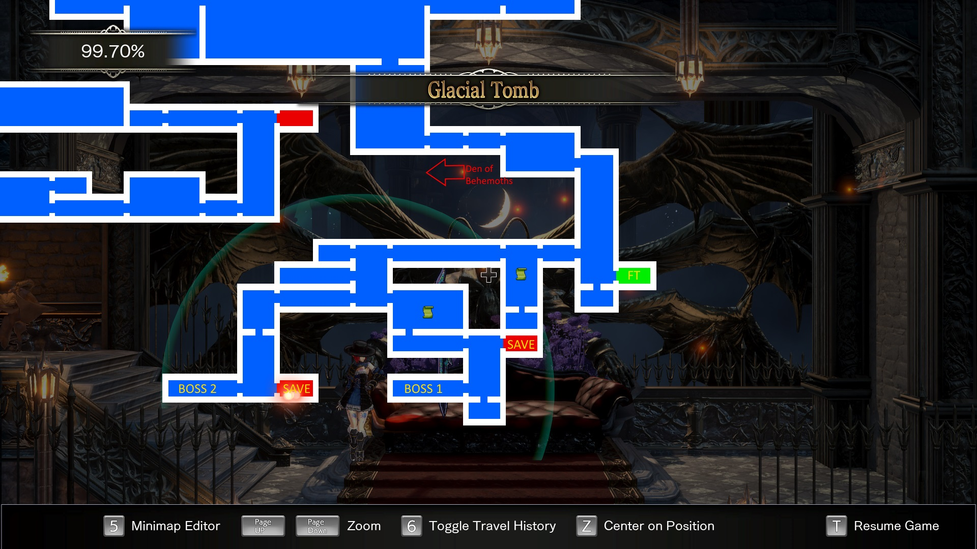 Bloodstained Ritual of the Night Glacial Tomb Guide