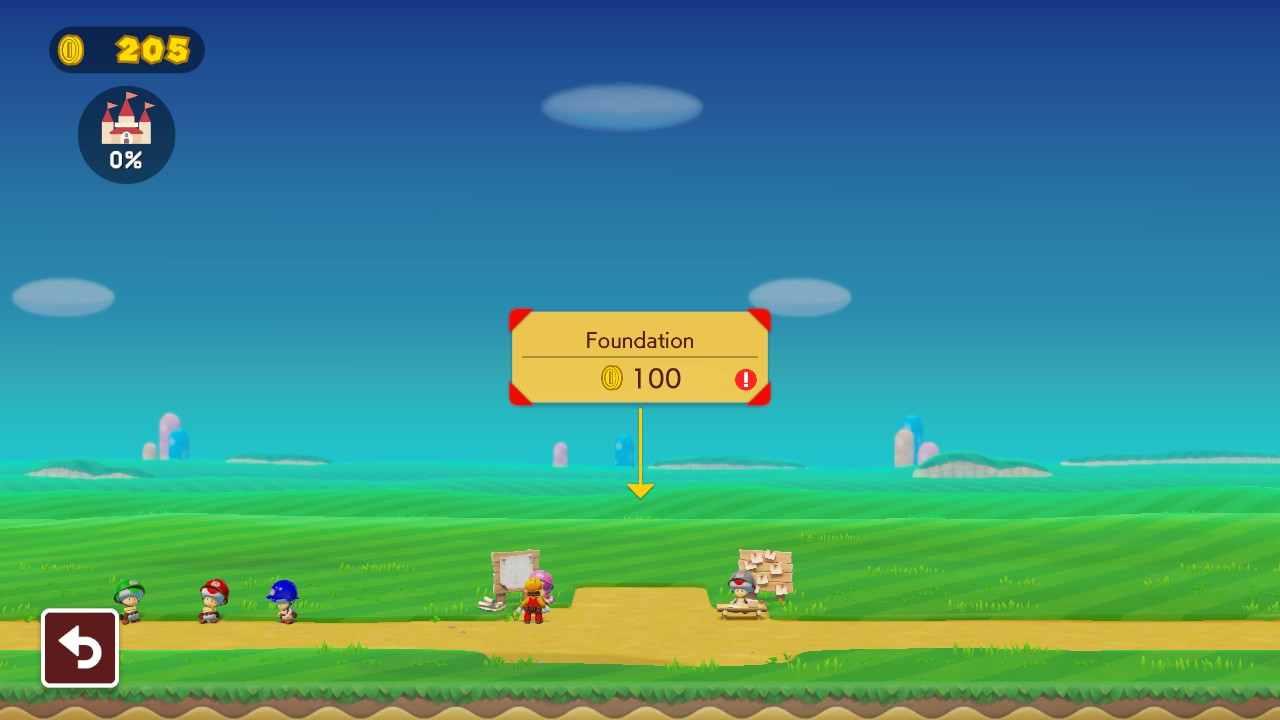 Super Mario Maker 2 Castle Build Parts List: Cost and Percentage Gained