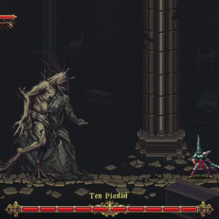 Image showing a boss in Blasphemous