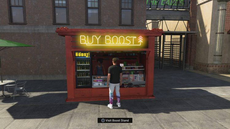 Image showing the Boost Stand in NBA 2K20.