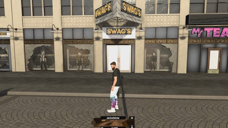 Image showing Swag's Main Street Clothing in NBA 2K20.