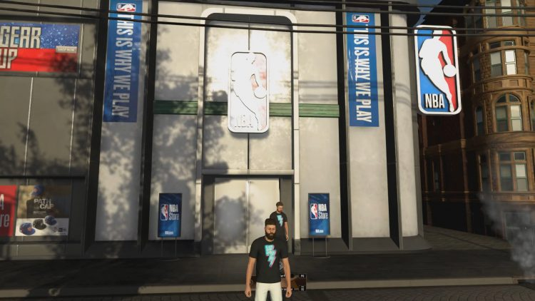 Image showing the NBA Store in NBA 2K20.