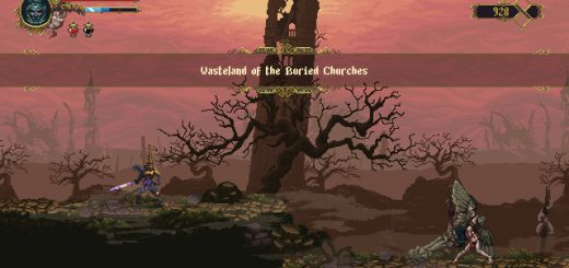 Featured image on Wasteland of the Buried Churches area guide