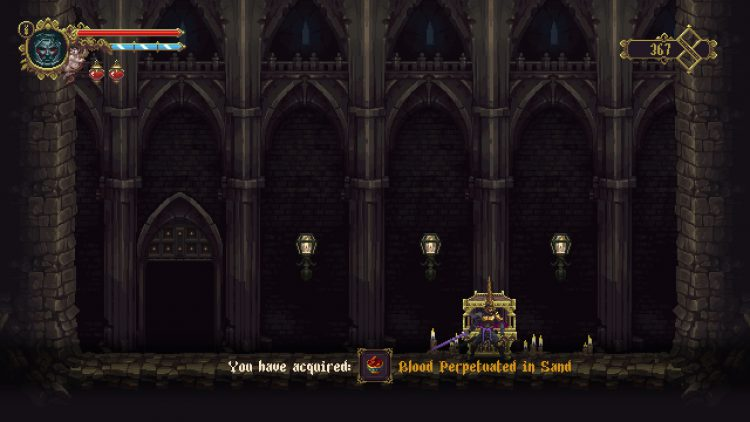 Image showing the Blood Perpetuated in Sand Relic location.