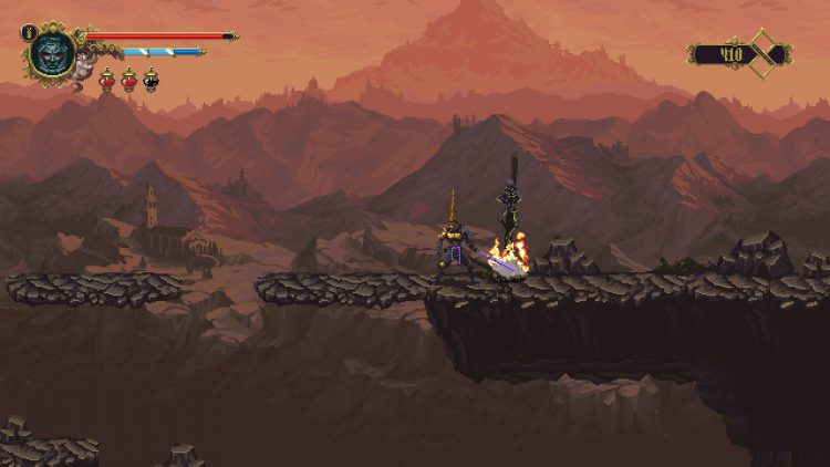 Image showing the first area of the Mountains of the Endless Dusk.
