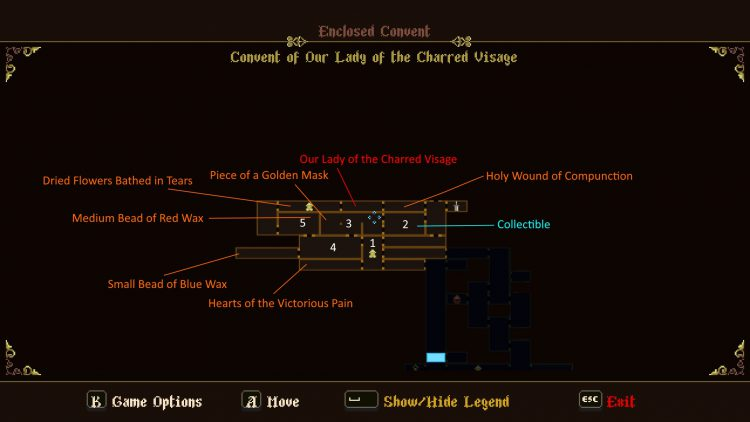 Image showing the Convent of Our Lady of the Charred Visage map.