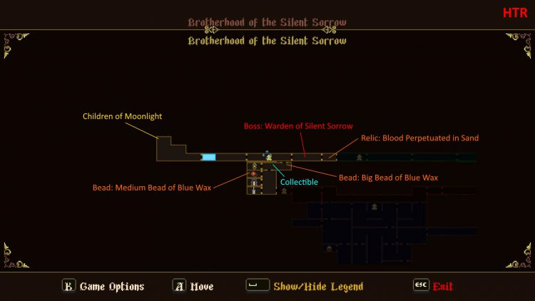 Image showing the Brotherhood of the Silent Sorrow Map.