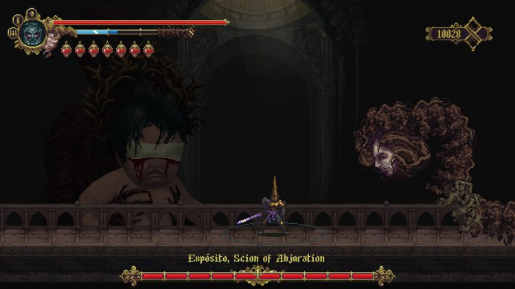 Image showing the Exposito, Scion of Abjuration boss.