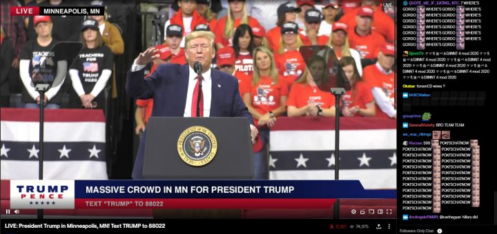Featured image on Donald Trump is now a Twitch Streamer article