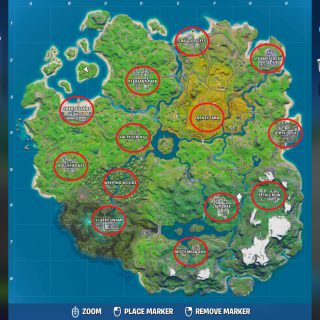 Featured image on Fortnite Chapter 2 Named Locations List