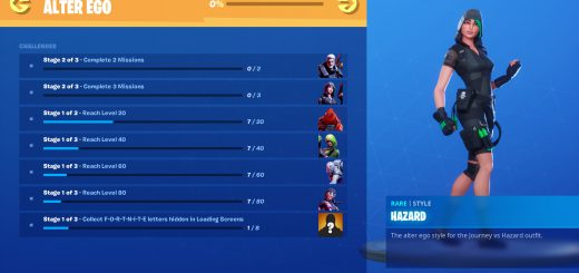Featured image on Fortnite Chapter 2 Alter Ego Challenges Guide