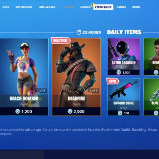 Featured image on Fortnite Item Shop post