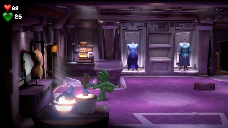 Red Gem Location Boutique Hidden Room 750x422 - Luigi's Mansion 3 - Guida: dove trovare tutte le gemme dei piani 3 e 4