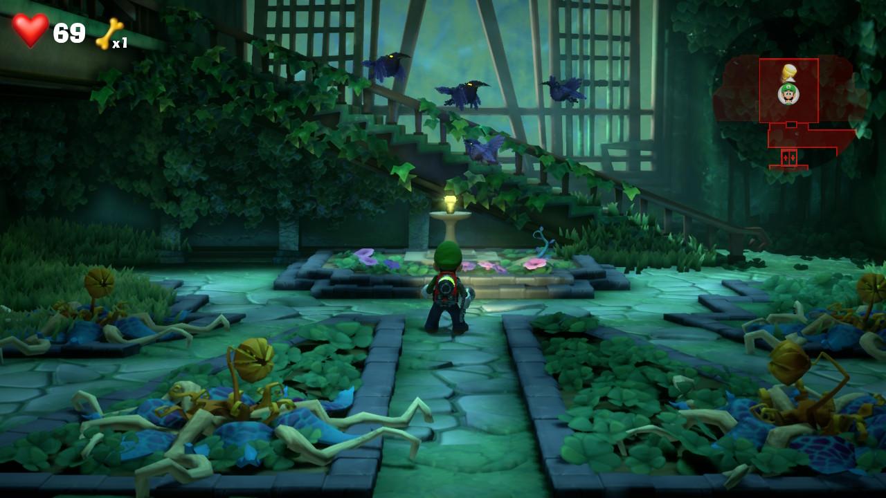 Luigi's Mansion 3: 7F Garden Suites Guide