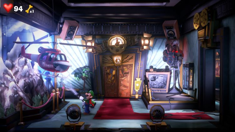 Purple Gem Location Helicopter in Elevator Hall 750x422 - Luigi's Mansion 3 – Guida: dove trovare tutte le gemme dei piani 7 e 8