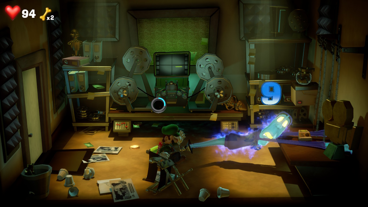 Luigi S Mansion 3 Captured The Director Ghost In Paranormal