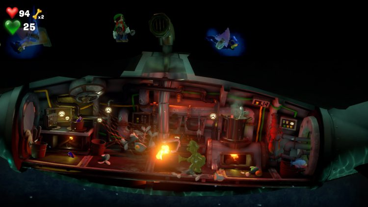 Purple Gem Location Sewer C 750x422 - Luigi's Mansion 3 - Guida: come trovare tutte le gemme dei piani B2 e B1