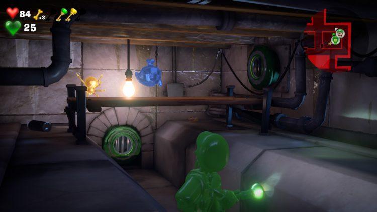 Image showing the Blue Gem Location Crawl Space Beneath Master Bathroom.