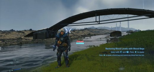 Featured image on how to get the Otter Hood in Death Stranding guide