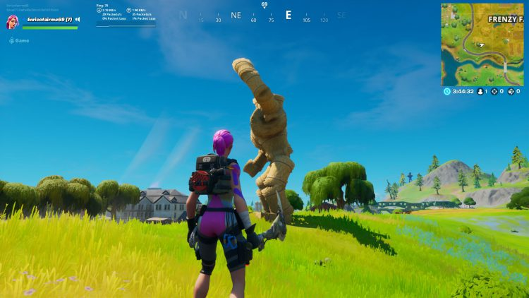 Image showing the Hayman location in Fortnite Battle Royale.