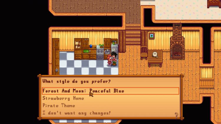 Image showing that Penny wants to re-decorate in Stardew Valley.
