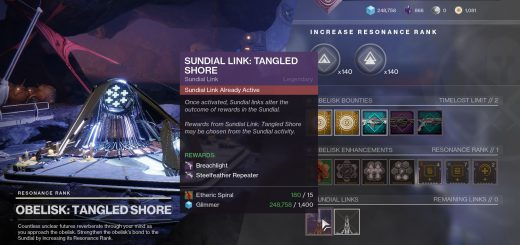 Featured image on How to Unlock the Tangled Shores Obelisk guide