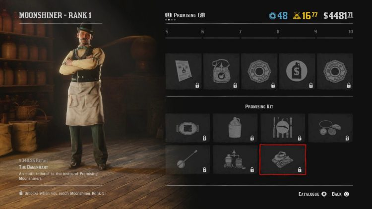 Image showing The Dagenhart Moonshiner Outfit.