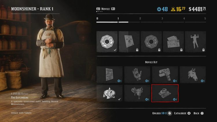 Image showing the Gatlinburg Moonshiner Outfit.