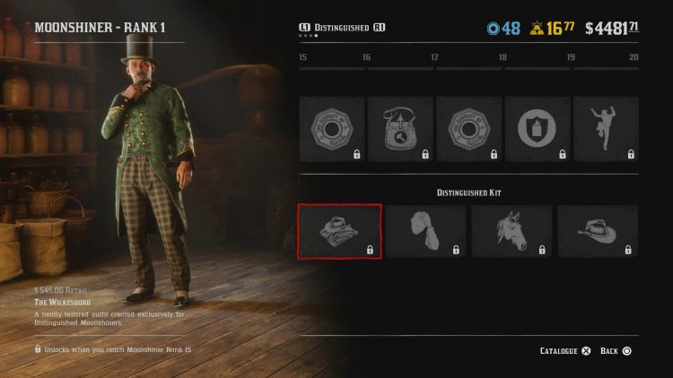 Image showing The Wilkesboro Moonshiner Outfit.