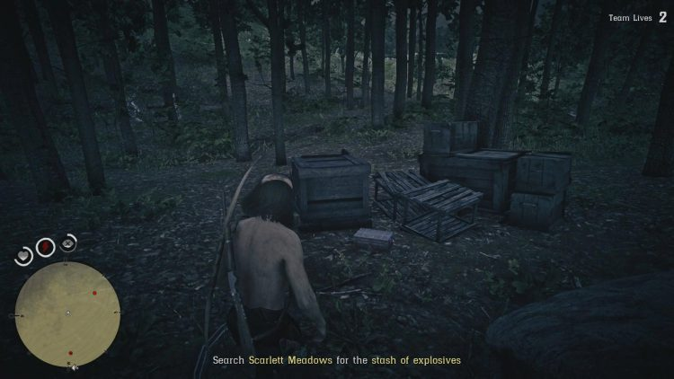 Image showing the lockbox that contains the explosives in Scarlett Meadows.