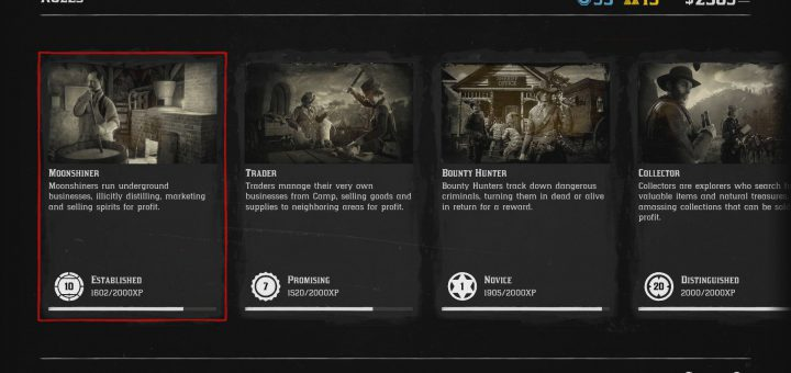 Featured image on How to Quickly Level Moonshiner in Red Dead Online guide