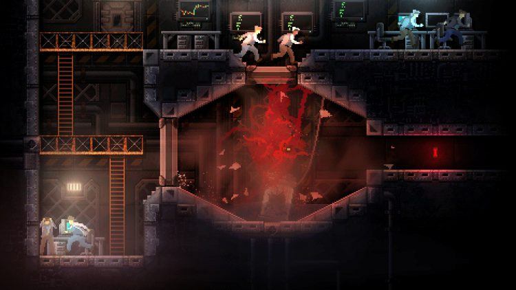 Image showing a screenshot from Carrion.