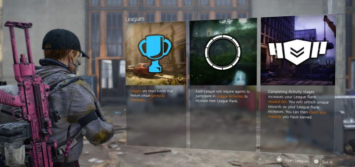 Featured image on Westside League Guide for The Division 2