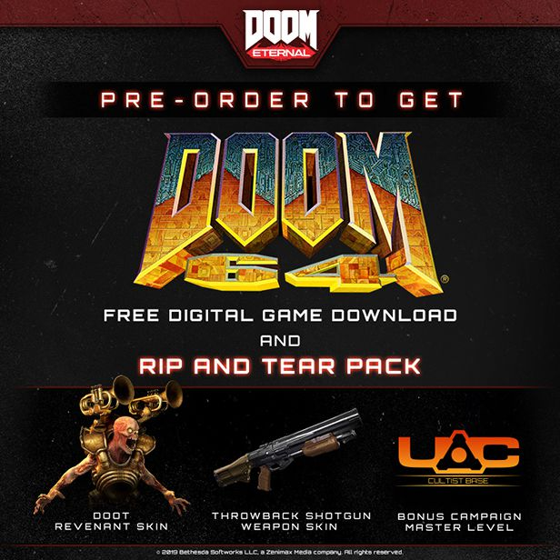 How To Access Doom Eternal Pre Order And Delxue Dlc Items