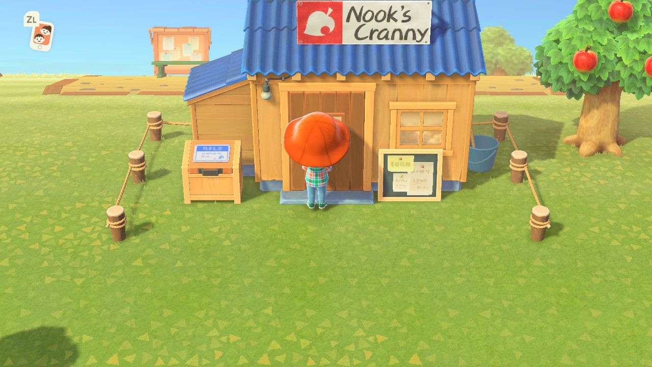 Image showing Nook's Cranny in Animal Crossing New Horizons.