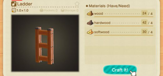 Featured image on How to Make a Ladder in Animal Crossing New Horizons guide