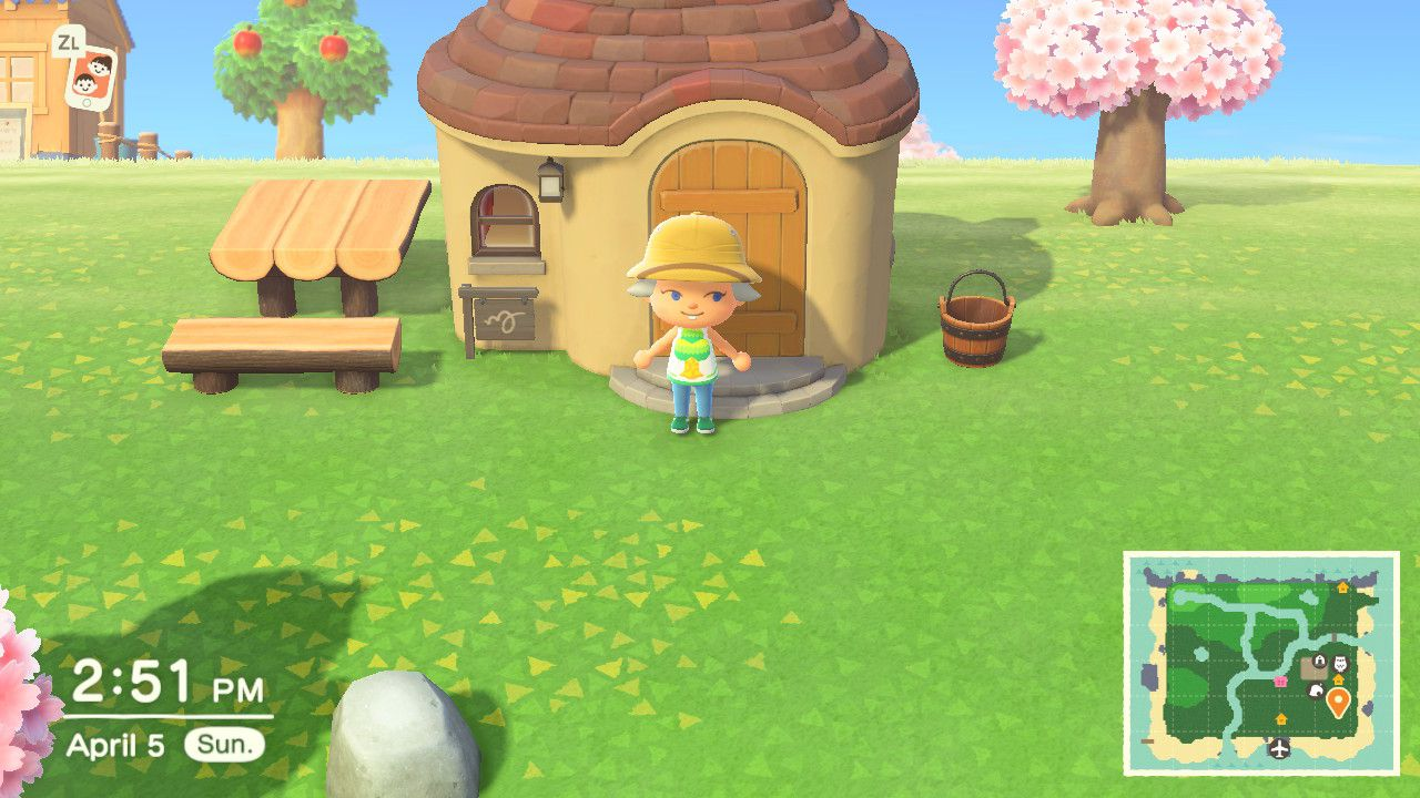 Animal Crossing New Horizons Three Houses Interior And Exterior