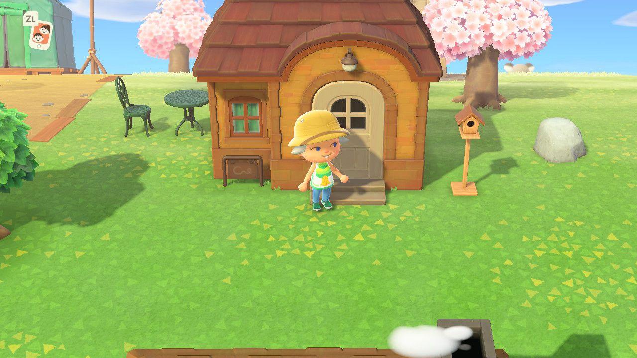 Animal Crossing New Horizons: Three Houses Interior and ...