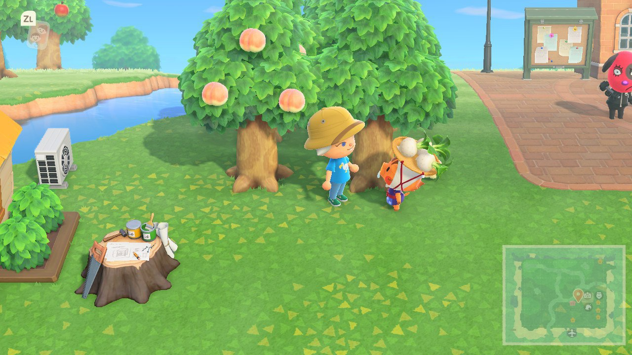 Image showing the Turnip seller in Animal Crossing New Horizons.